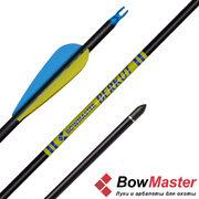 Стрела для лука Bowmaster Berkut оперение 3'' Streamline (Боумастер Беркут)