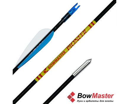 Купить стрелы для классического и детского лука фиберглассовая Bowmaster Pioneer (Боумастер Пионер) в интернет-магазине