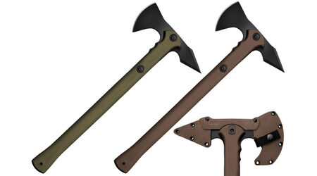 купите Топор Cold Steel Trench Hawk (Dark Earth или OD Green) / 90PTHF - 90PTHG в Хабаровске