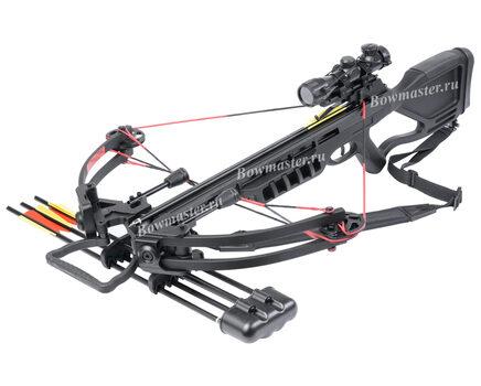 Купите блочный арбалет Man-Kung MK-380 черный в Хабаровске в интернет-магазине